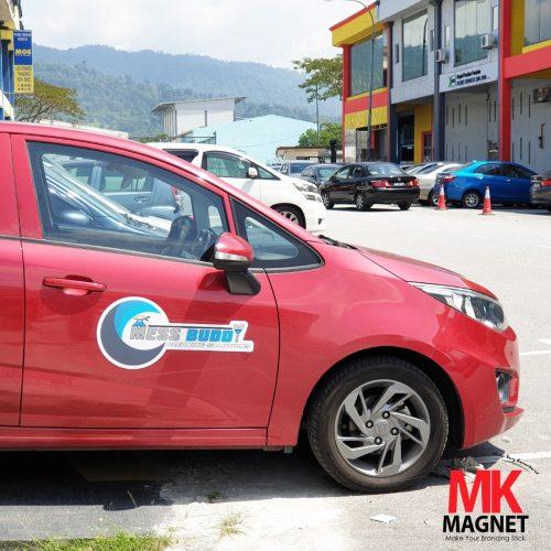 Car Magnet Sticker MK Magnet